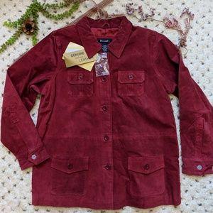 Denim & Co Washable Leather Jacket